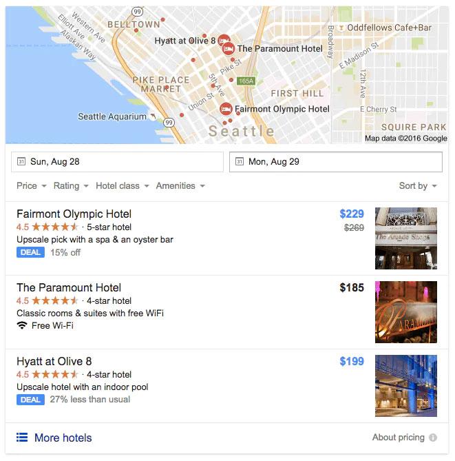 مجموعه تیزر محلی (Local Teaser Pack) در نتایج گوگل