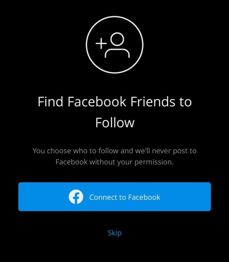 دوستانتان را از فیسبوک وارد اینستاگرام کنید