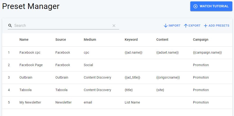 استفاده از Google Analytice URL Builder