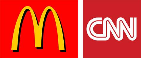رنگ قرمز در لوگو