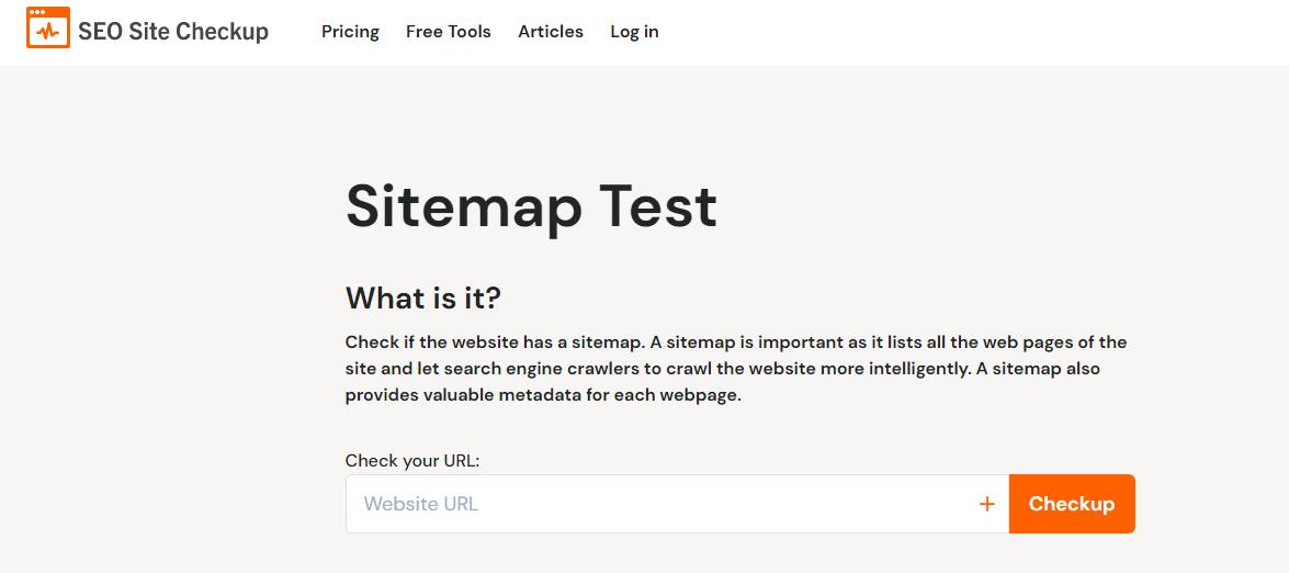 مشاهده نقشه سایت