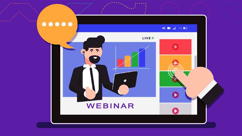 وبینار (Webinar) چیست؟   کاربرد و مزایای وبینار + راهکارها و ابزارها