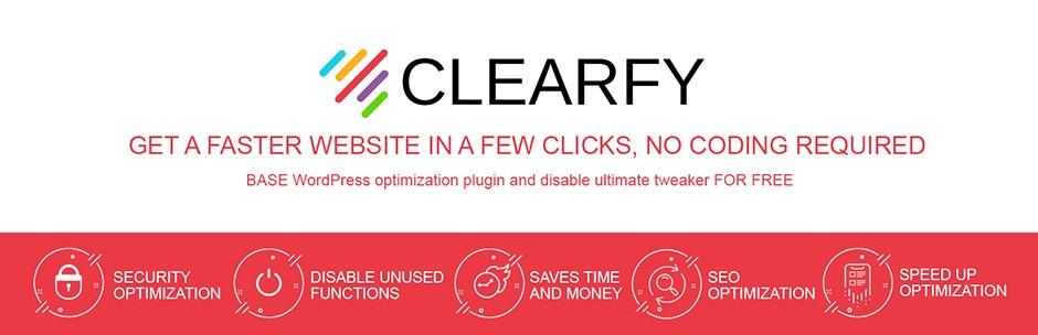 افزونه Clearfy