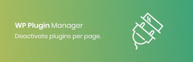 افزونه Deactivate Plugins Per Page