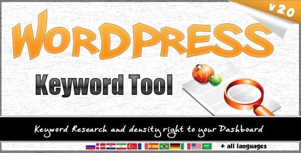 افزونه WordPress Keyword Tool